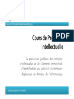 Cour de Propriete Intellectuelle - Transparants