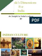 Hofstede India