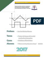 Factor de Forma de La Señal Cuadrada y Triangular