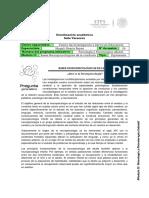 IV. Bases Neuropsicológicas de La Conducta