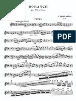 IMSLP30974-PMLP70670-Saint-Sa Ns - Romance Op. 37 Flute and Piano