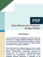 Datos Básicos para Proyectos de Agua Potable.pdf