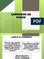 Cañoneo slickline Producion