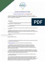 Declaración de Bioética de Gijón