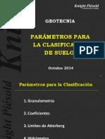 1 - PARÁMETROS PARA LA CLASIFICACIÓN DE SUELOS.pptx