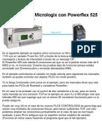 Comunicación Micrologix Con Powerflex 525 Por Ethernet