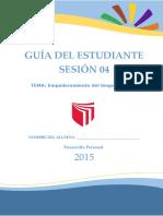 Guia Estudiante - 4 Sesion - Empoderamiento Lenguaje