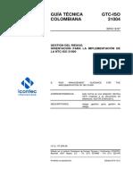 GTC-ISO31004