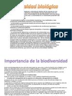la biodiversidads
