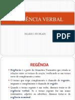 Regencia Verbal slides