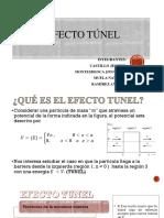 EFECTO TÚNEL Y MAGNETISMO CUÁNTICO.pptx