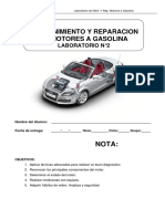 Guía N°2  Motor a Gasolina