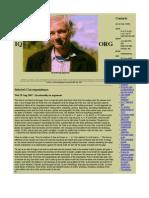 Julian Assange - IQ_Interesting Question. Julian Assange's Blog Archived