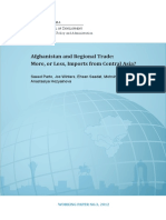 Afghanistan and Regional Trade