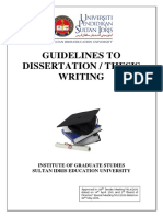 UPSI Thesis Guideline