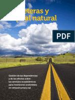 Carreteras y Capital Natural Gestion de Las Dependencias y de Los Efectos Sobre Los Servicios Ecosistemicos Para Inversiones Sostenibles en Infraestructura Vial
