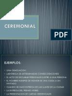 Ceremonial