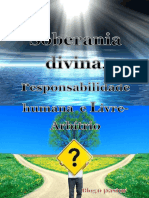 Soberania Divina- Responsabilidade Humana e Livre-Arbítrio