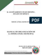 02 Manual de Organización de La Síndicatura Municipal