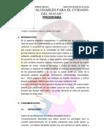 Programa Salud. HÁBITOS SALUDABLES