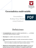 10. Geostadística Multivariable