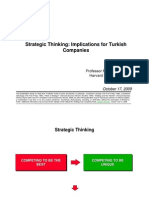 20091017 Turkey Strategic Thinking
