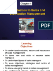 Sales & Distribution Text