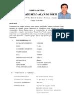 Currículum Vitae - Alvaro Diaz Manchego