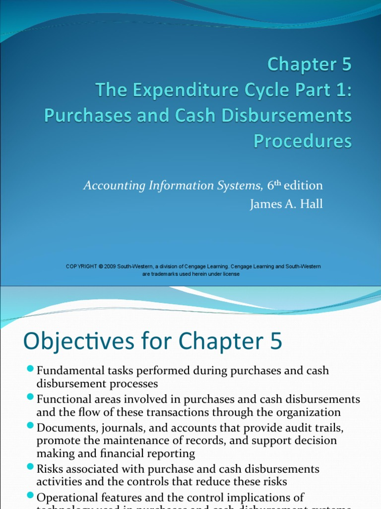 Accounting Information System (chapter 5) | Accounts Payable | Electronic  Data Interchange