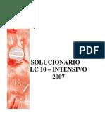(10) Lenguaje y Comunicación LC - Cursos Intensivos LC-10