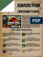 [Guía Oficial] Jurassic Park Snes Pal