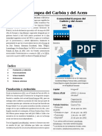 Comunidad Europea Del Carbón y Del Acero