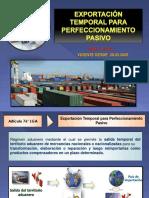 Regimen - Exportacion Temporal Para Perfeccionamiento Pasivo