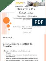 Colestase Intra-Hepática Na Gravidez
