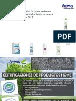 Comparativos de Productos Amway