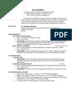 resume-russellkillian