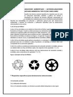Etiquetas y Declaraciones Ambientales