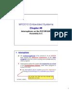 MC MR2010 Chapter 8 PIC18 Interruptions1