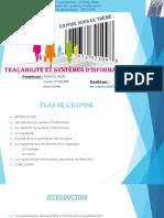 Traçabilité Et Systèmes d'Information