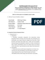 RPP Gambar teknik kgsp kelas X