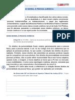 Resumo 1947690 Raquel Bueno 31657230 Direito Civil Juris 2015 Aula 118 Dano Moral a Pessoa Juridica