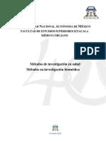 ! Programa Biomedica (Métodos de Investigación III) 27-7-16