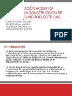 Presentación Contaminación Acústica en La Construcción de Centrales Hidroeléctricas