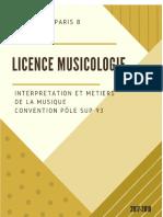 Plaquette Licence Musicologie parcours fléchés_2017-2019
