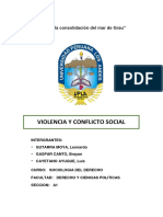 Violencia o Conflicto Social