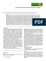 Survival of Azospirillum brasilense in liquid formulation amended with different chemical additives.pdf