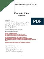 Texte Kim Van Kieu