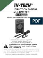 Digital Multimeter 98025