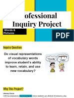 professional  inquiry project