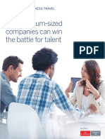 How Medium Size Company Can Win the Battle Talent